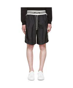 Giuliano Fujiwara | Striped Basket Shorts