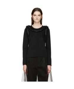 Noir Kei Ninomiya | Long Sleeve Frilled Bows T-Shirt