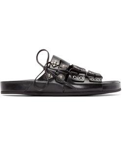 TOGA VIRILIS   Leather Embellished Sandals