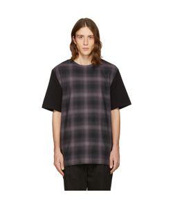 Helmut Lang | Check Combo T-Shirt