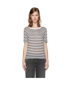 T By Alexander Wang | And Striped T-Shirt