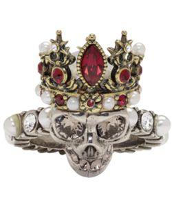 Alexander McQueen | Queen Skull Ring