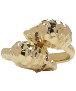 Alexander McQueen | Twin Skull Ring