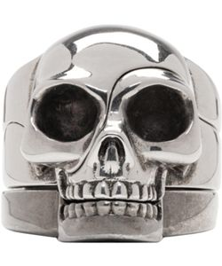 Alexander McQueen | Divided Skull Ring Set