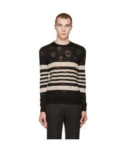 Alexander McQueen | Stripes And Skulls Pullover