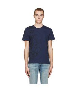 Alexander McQueen | Skulls And Lines T-Shirt