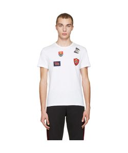 Alexander McQueen | Badges And Butterfly T-Shirt