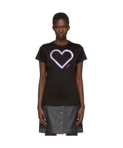 Carven | Neon Heart T-Shirt
