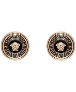 Versace | Enamel Medusa Earrings