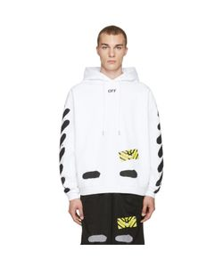 OFF-WHITE | Diagonal Spray Hoodie