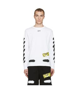 OFF-WHITE | Diagonal Spray Long Sleeve T-Shirt