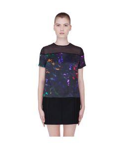 Preen Line | Silk Abstract Laxt T-Shirt