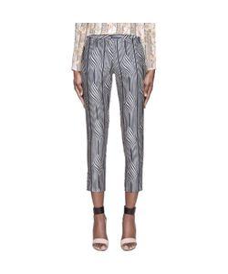 Suno | Warped Stripe Classic Trousers