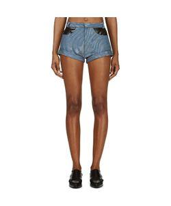 Rodarte | Zebra Runway Denim Shorts