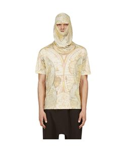 Ktz | Digital Map Print Mask T-Shirt