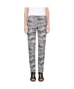 Calvin Klein Collection | And Jacquard Brush Slice Tamar Trousers