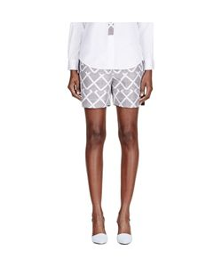 Maiyet | Silk Printed Pleated Waist Shorts