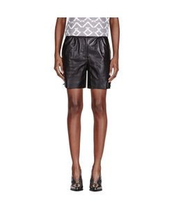 Maiyet | Leather Straight Shorts