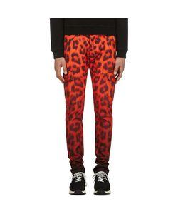 KATIE EARY | Leopard Twill Cargo Trousers