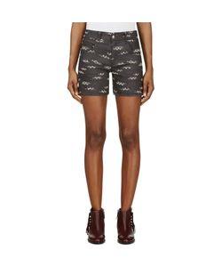 Roseanna | Jacquard Denim Shorts
