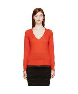 Burberry Prorsum   Cashmere V-Neck Sweater