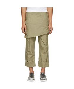 Thamanyah | Waxed Skirt Trousers