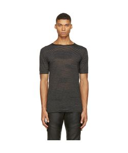Costume National | Alternating Knit T-Shirt