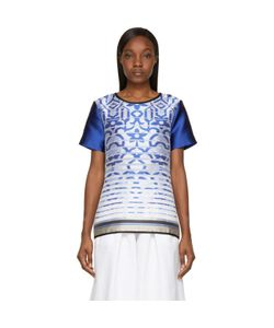Ostwald Helgason | Satin Degraded Jacquard T-Shirt