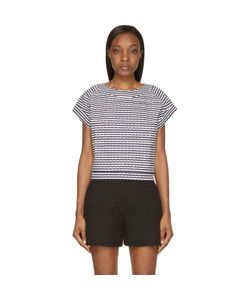 Jay Ahr | And Eyelet Studded Top