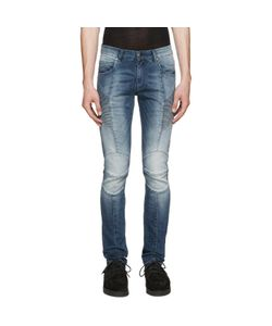 Pierre Balmain | Washed Biker Jeans