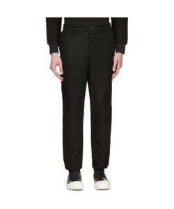 Diet Butcher Slim Skin | Felted Wool Trousers