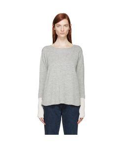 AALTO | And Alpaca Wool Paneled Sweater