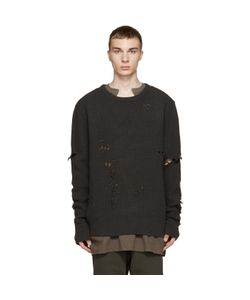 YEEZY SEASON 1 | Patched And Destroyed Sweater