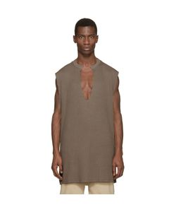 YEEZY SEASON 1 | Waffle Cotton Thermal Tank Top