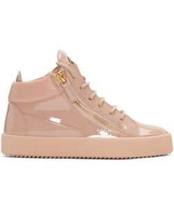 Giuseppe Zanotti Design   Giuseppe Zanotti Patent London High-Top Sneakers