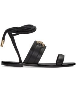 Versace | Leather Medusa Sandals