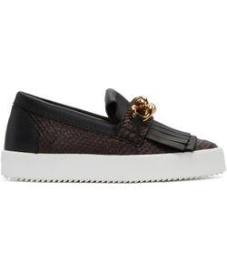 Giuseppe Zanotti Design | Giuseppe Zanotti Python-Embossed London Slip-On Sneakers