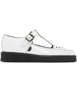Underground | Patent Leather T-Bar Creepers