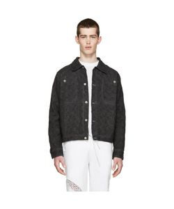 Telfar | Denim Embroidered Jacket