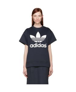 ADIDAS ORIGINALS BY HYKE | Neoprene Logo Pullover
