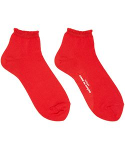 Tricot Comme des Garçons | Ruffled Cuff Socks