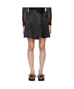 Burberry Prorsum | Silk Pleated Wrap Skirt