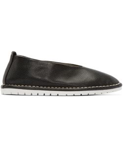 Marsèll Gomma | Perforated Leather Sanlaccio Flats