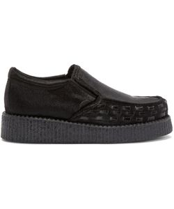 Underground | Calf-Hair Creeper Loafers