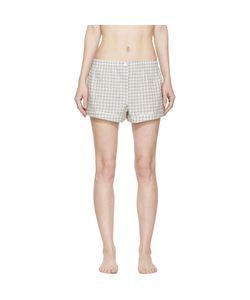 ARAKS   Gingham Pyjama Tia Shorts