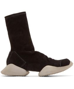 Rick Owens | Suede Adidas By High-Top Sneakers