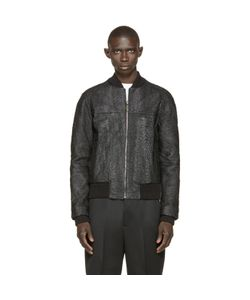 A.Sauvage | Faux Fish Skin Bomber