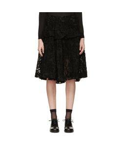 Simone Rocha | Embroidered Tulle Skirt