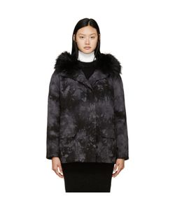 Army by Yves Salomon | And Tie-Dye Fur-Lined Parka