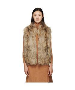 METEO BY YVES SALOMON   Knit Fur Vest
